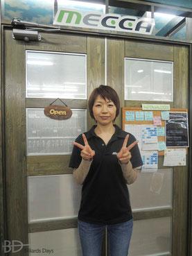 JPBA青木絵美プロ in MECCAショールーム
