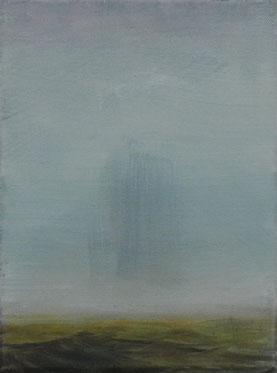 Schatten, Öl/Leinwand, 24 x 18 cm, 2019