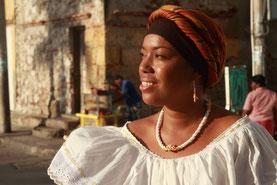 Bewohnerin der Karibikküste