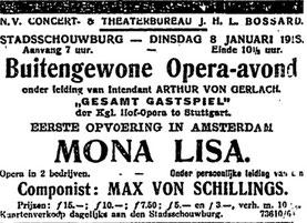 Nieuwe Rotterdamsche Courant, 2.1.1918, Delpher: Niederländisches Zeitungsarchiv