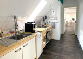 Hollerhaus Seminaretage - Küchenzeile
