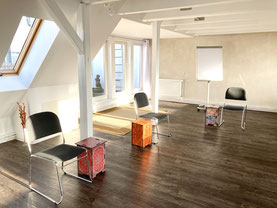Hollerhaus Seminaretage - gr. Raum zur Terrasse
