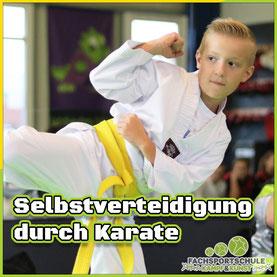 Grafik Kurs Selbstverteidigung durch Karate in Friesoythe erlernen