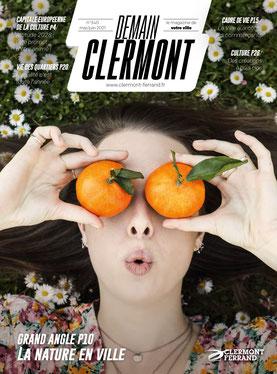 Couverture de Demain Clermont adapté par Braille & Culture