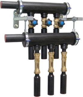 collettore per sonde geotermiche CLASSIC-LINE - geotermia di Solar hoch 2