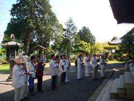 中山寺のお詣り