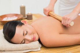 massage du corps relaxant au bambou au puy-en-velay