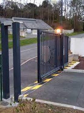 signalisation d'un portail automatique