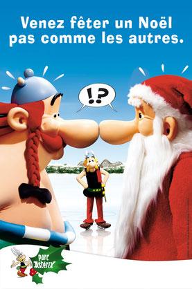 Parc Asterix Famille Famille 2012 spectacles de noel