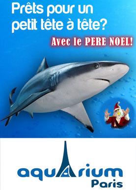 Aquarium de Paris pour les Spectacles de noël