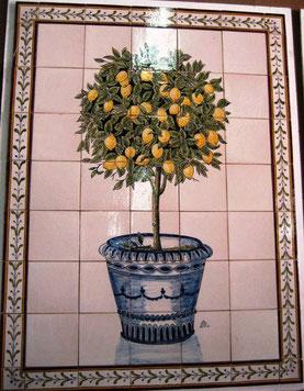 """""""Orangenbaum im Hochtopf"""" Art.-Nr.: PN-121, Größe: 1,07x79cm"""