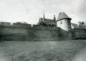 Frauenburg Замковая стена с полубашней 1996