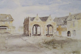 By Steve Brook . This is the 'Market Hall in Chipping Campden, one of the most attractive market towns in the Cotswold.