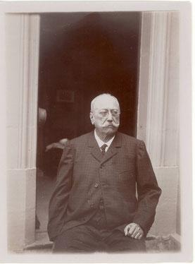 Le docteur Gigard photographié par Jules Fesser
