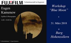 Mond, Workshop, Burg Hohenzollern