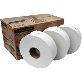 Caja de papel higiénico Marli 200m. 12 rollos de 200metros. Ancho de 9 cm.