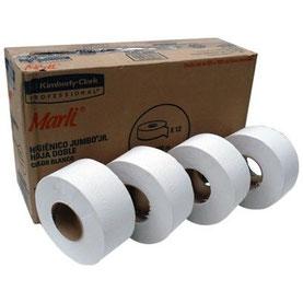 Caja de papel higiénico Marli 180m. 12 rollos de 180 metros. Ancho de 9 cm.
