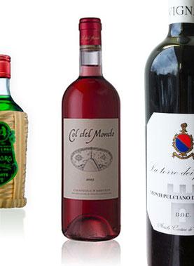 Wein und Likör aus den Abruzzen