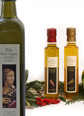Olivenöl Extra Vergine di Olia aus Lorento in den Abruzzen