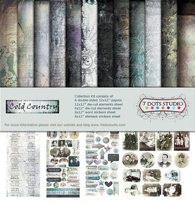 UK Stockist 7 Dots Studio Cold Country
