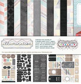 UK Stockist 7 Dots Studio Illumination collection