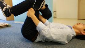 奈良県葛城市の冷えと腰痛に悩む男性