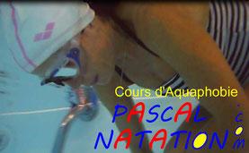 Cours d'aquaphobie à La Ciotat avec Pascal Natation
