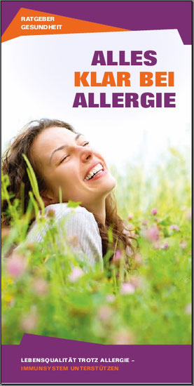 Gesundheitsratgeber Allergie für STADAvita GmbH (Auszug)