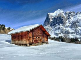 Grindelwald - Bort - Winderwanderung - 07.03.2015