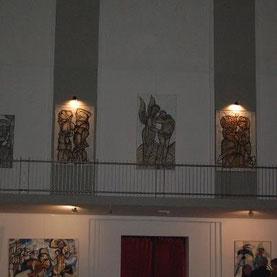 In der Galerie Szyb Wilson in Kattowitz