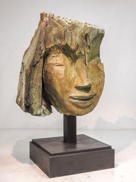 Kopf 255, 2017, Bronze, 6 Ex.
