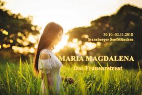 Maria Magdalena retreat Frauentempel awakeningwomen empoweringwomen yincoaching bluetenklang