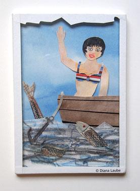 Mädchen im Boot