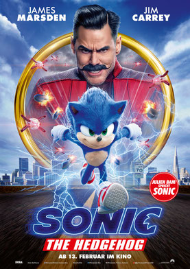 Sonic The Hedgehog Plakat