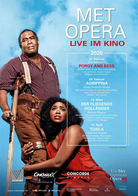 Pory & Bess (live MET Opera) Plakat