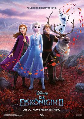 Die Eiskönigin 2 Plakat