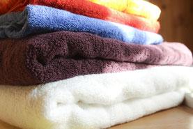 Купить оптом ткань для полотенец купить в флок синий