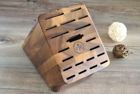 Messerblock aus Akazienholz für hochwertige Messer von Pampered Chef aus dem Onlineshop bequem online bestellen und kaufen