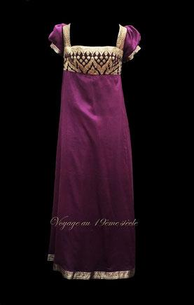 Location costumes historiques Bordeaux Paris robe de bal Premier Empire