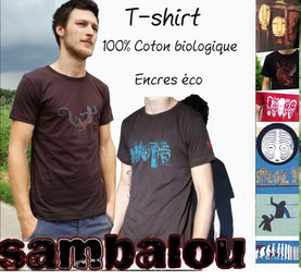 Sambalou T-shirt 100% coton biologique