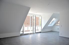 Komplettsanierung 2-geschossige Dachgeschosswohnung