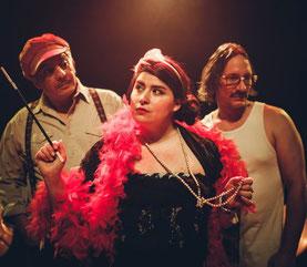 Concert trio musiciens-chanteurs chanson française
