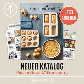 Pampered Chef Katalog Frontseite