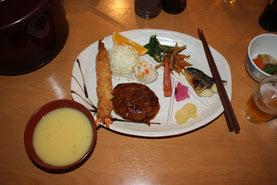 剣山荘夕食