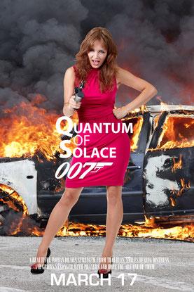 Фотосессия Бондиада фотозона агент 007