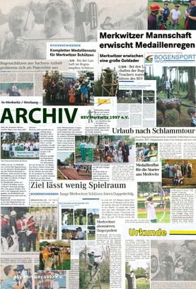 BSV Merkwitz 1997 e.V. - der erste Bogenschützenverein aus Bad Schmiedeberg bei Lutherstadt-Wittenberg