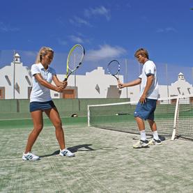 corralejo tennis lesson