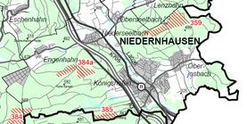 © RP Darmstadt: Entwurf Windvorrangflächen - Ausschnitt Karte 1 des Teilplanentwurfs 27.09.2013)