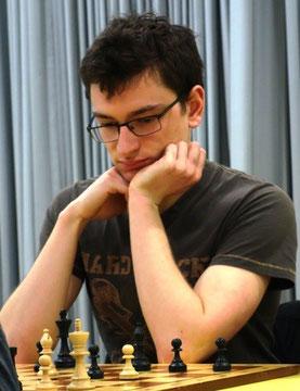 Enrico Berner sicherte den zweiten Mannschaftspunkt (Foto: A. Obdenbusch)