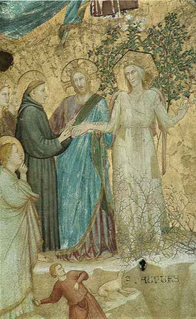S. Francesco heiratet Frau Armut (Giotto)